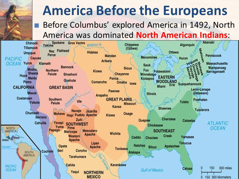 native us residents as contrasted with europeans