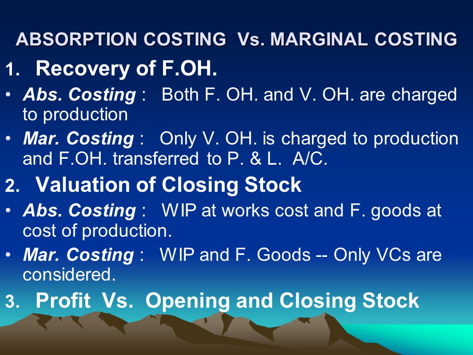 marginal costing versus lifecycle costing Recurring and non-recurring ▫ incremental ▫ cash and book ▫ life-cycle  if  a student is taking 18 hours, then the marginal cost equals the variable cost of.