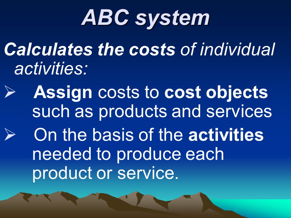 The Disadvantages & Advantages of Activity-Based Costing