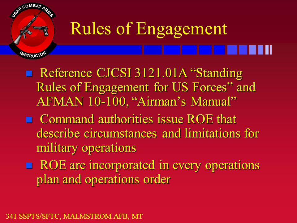 Rules of Engagement for Project Resources