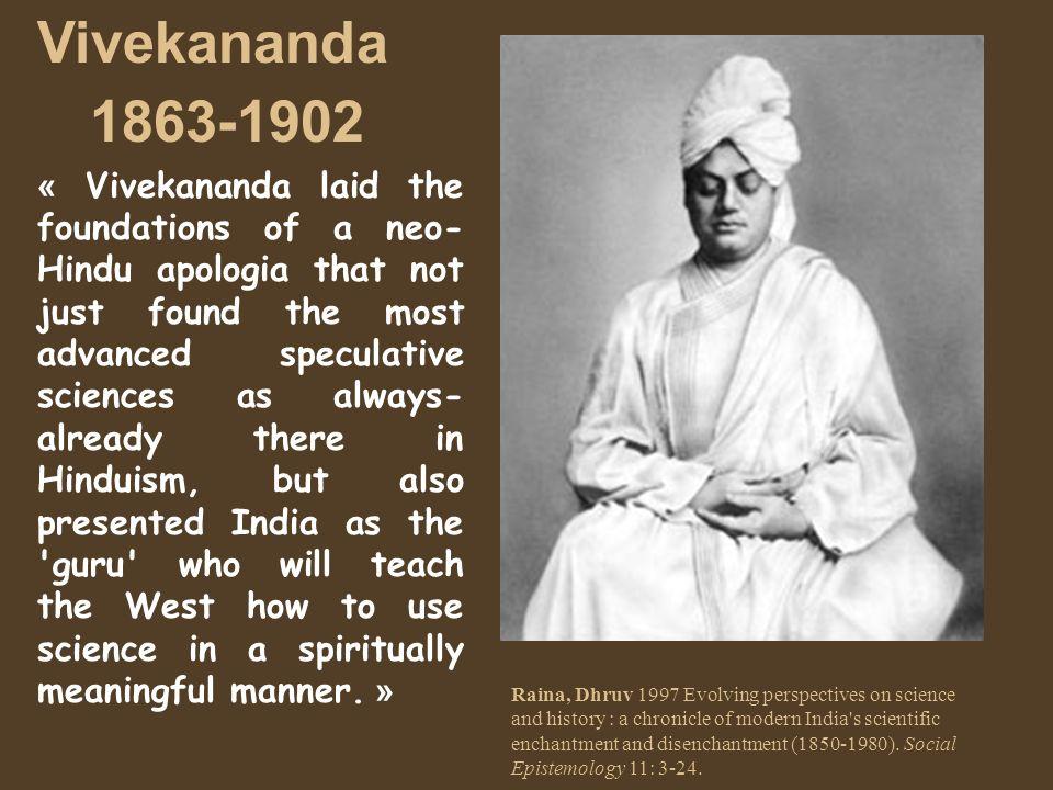 Vivekananda 1863-1902.