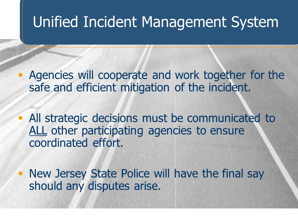 Unified Incident Management System