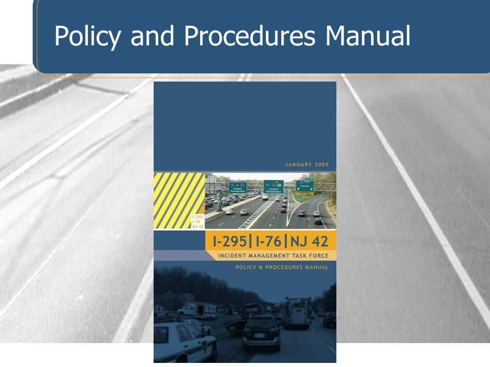 Policy and Procedures Manual