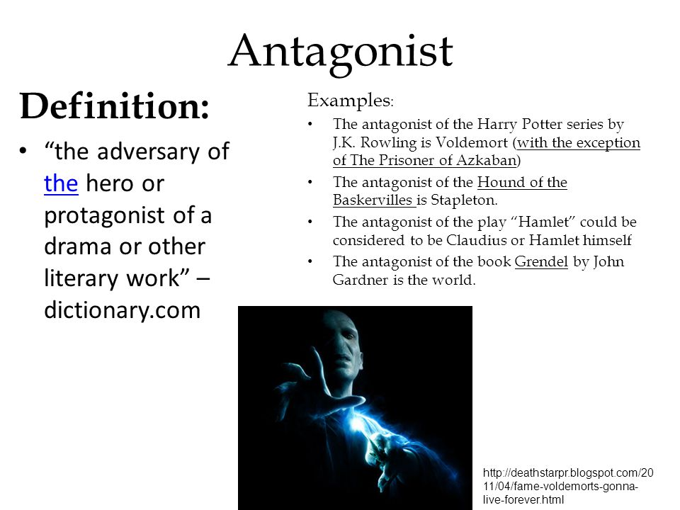 antagonist meaning in literature