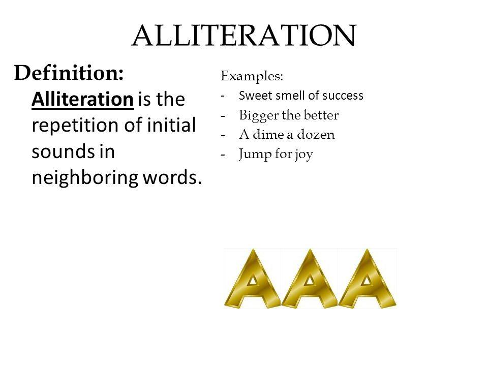 Alliteration Definition And Example Image Collections Example