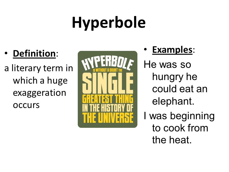 definition hyperbole Definition of hyperbole noun in oxford advanced learner's dictionary meaning, pronunciation, picture, example sentences, grammar, usage notes, synonyms and more.