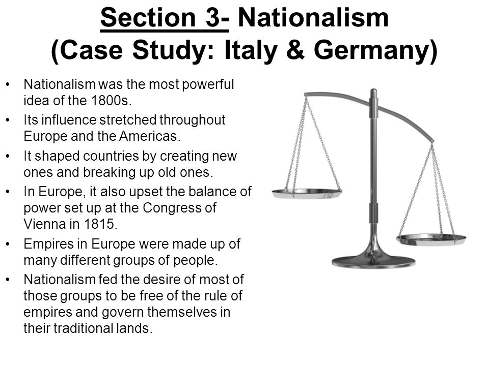 an analysis of nationalism in italy Vladimir's choice whither nationalism nationalism is not fading away but it is not clear where it is heading print edition | christmas declared: we have made italy now we must make italians so much for herder's unique community bound by language and culture.
