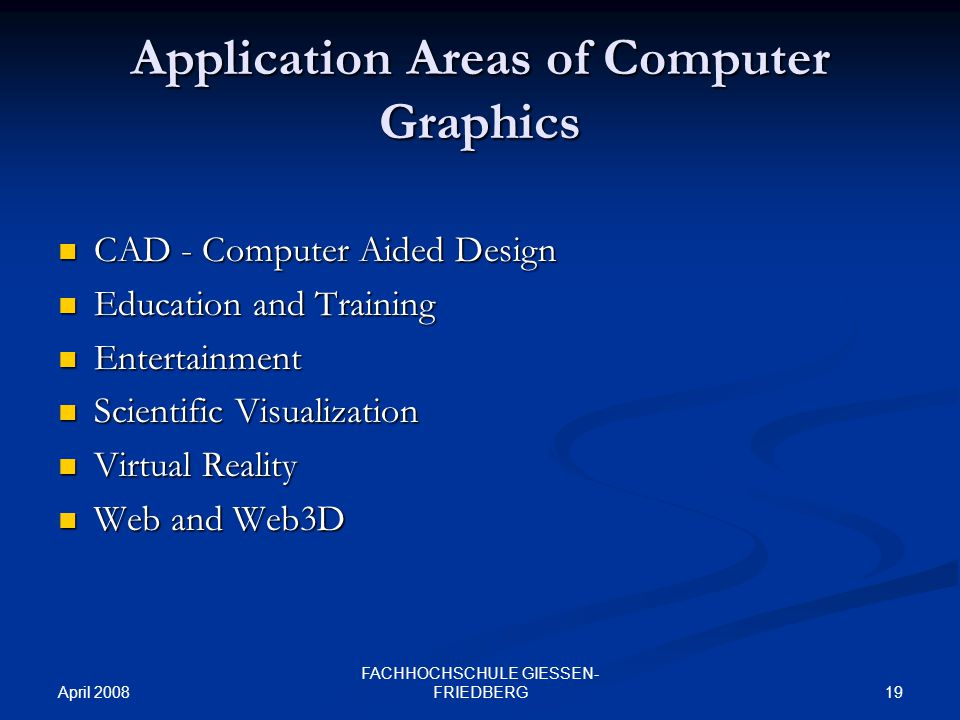 computer application areas essays It comes as a right-hand assistant of teachers with an abundance of audio and  video software and applications adaptable to make presentations the ability to.