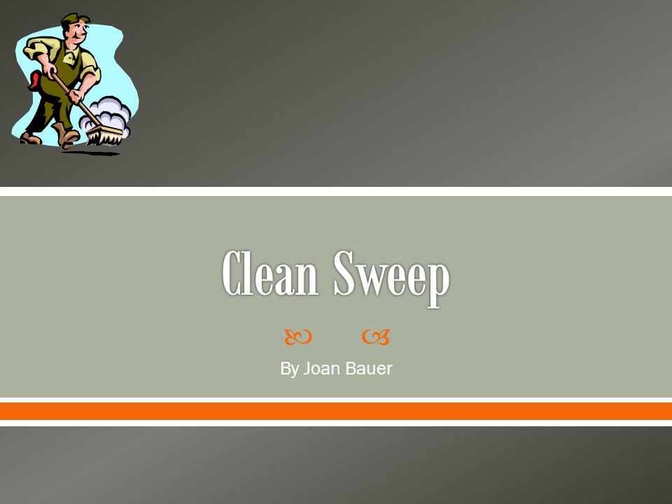 clean sweep by joan bauer pdf