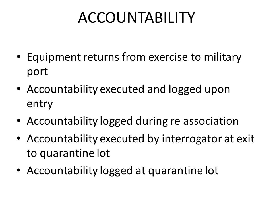 gear accountability in marines Explore how the defense department has skirted accountability for nearly 40   soon after, a marine at camp lejeune was stalked as she picked up her gear,.