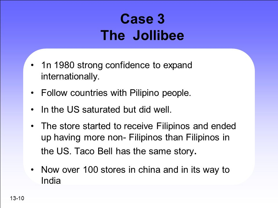 weaknesses of jollibee For my 4th blog i decided to swot about jollibee my favorite fastfood restaurant back home strengths: - jollibee has grown exponentially on all aspects on operation.