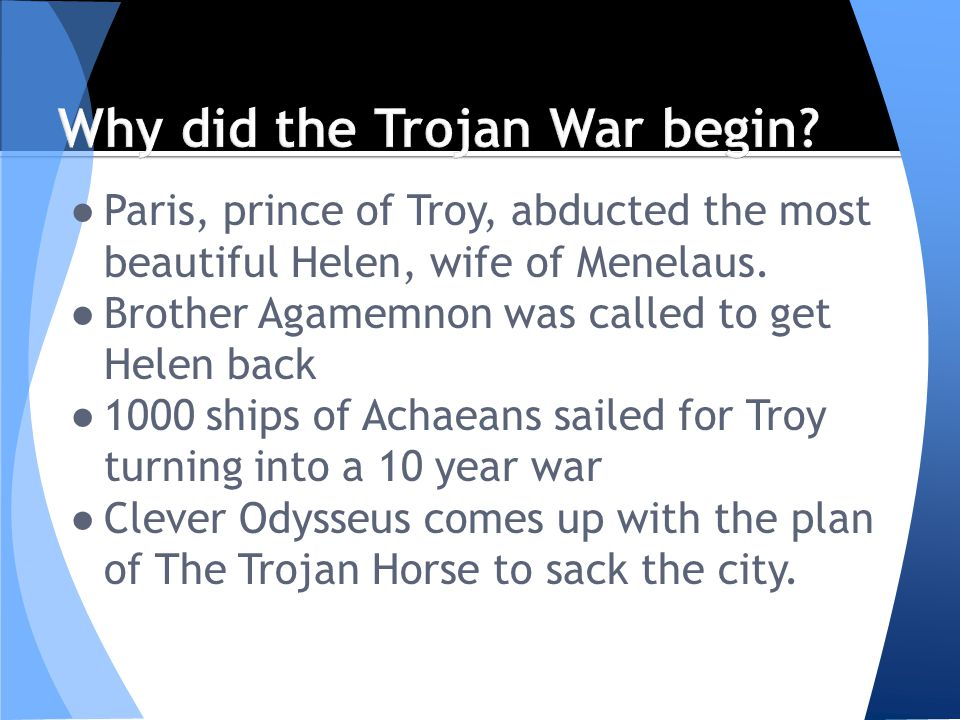 did trojan war exist Strauss offers fresh look at 'trojan war' homer first wrote of the trojan war in the iliad, a story filled with enduring characters: helen, paris, achilles, hector and odysseus, to name but a few.