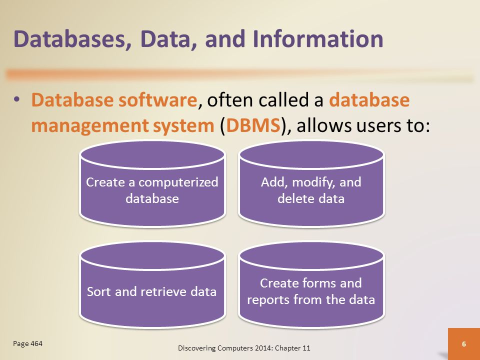 database management systems essay Object-oriented database management systems the construction of object-oriented database management systems started in the middle 80's, at a prototype building level, and at the beginning of the 90's the first commercial systems appeared the interest for the development of such systems stems from.
