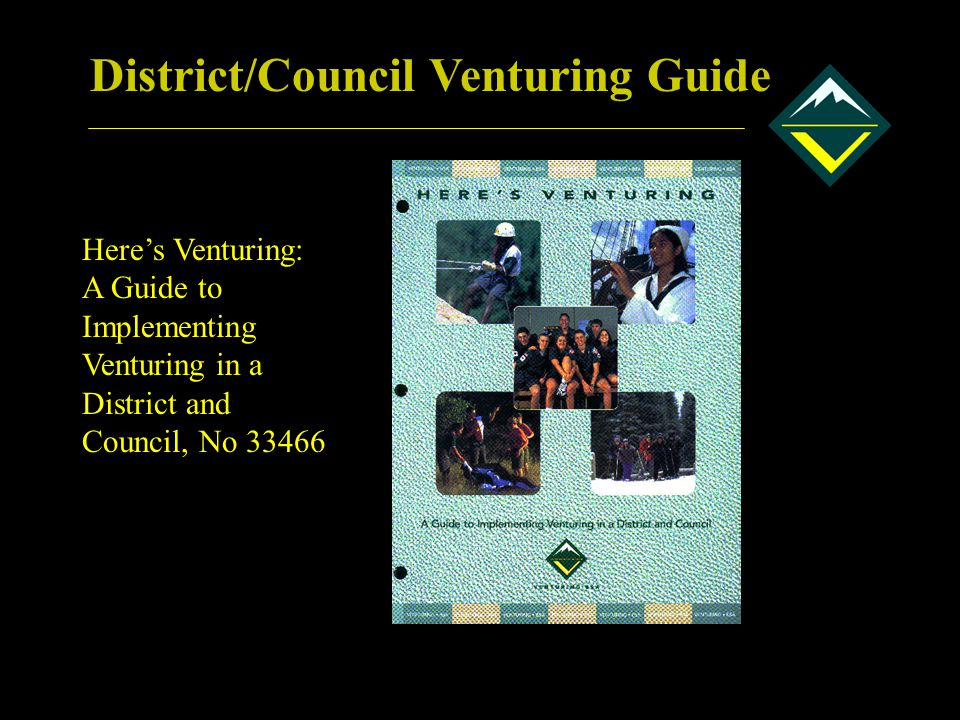 District/Council Venturing Guide