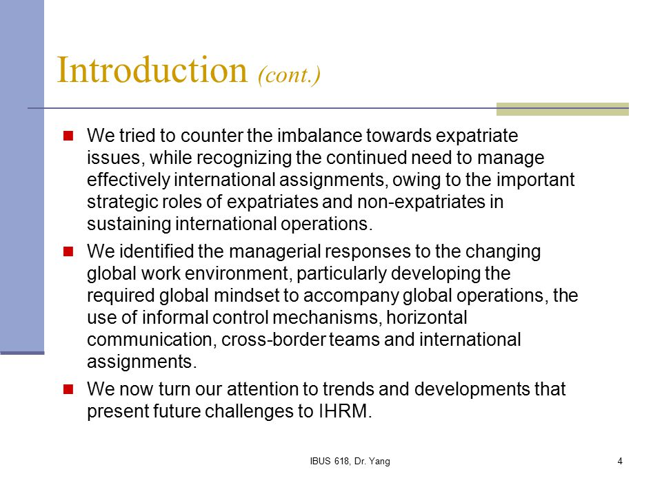 ihrm challenges The challenges facing international human resource manage- ment (ihrm) in  meeting these needs are daunt- ing although ihrm has been dealing with.