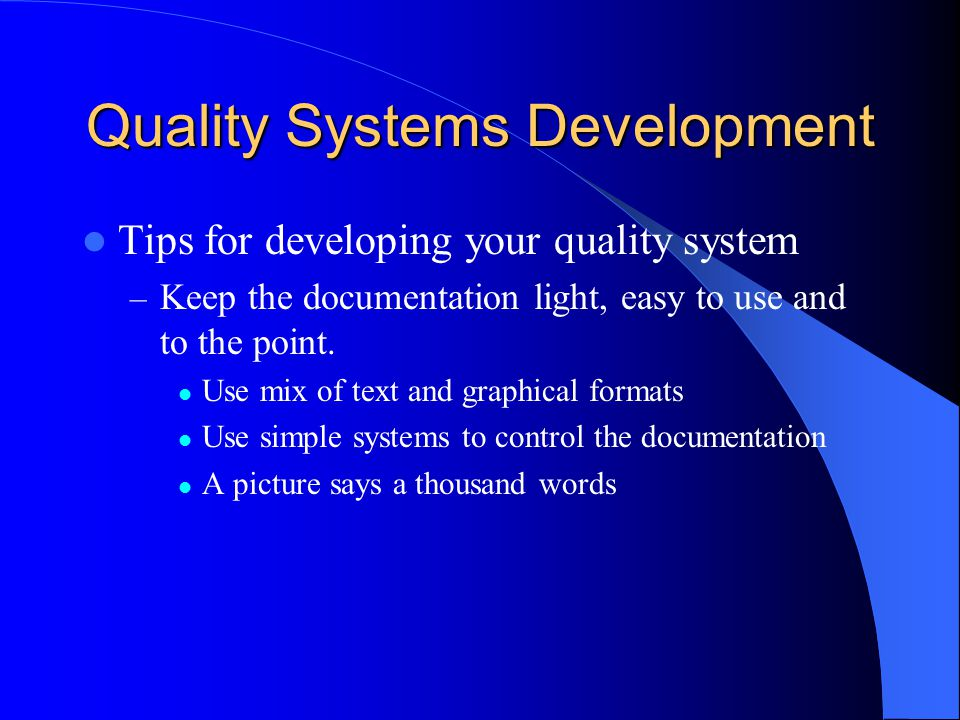 use and development of systems that For planning and assessing system development information in the book is from various sources, but a good portion is taken from lecture material devel- oped for the two systems planning, research, development, and engineering courses offered by the.