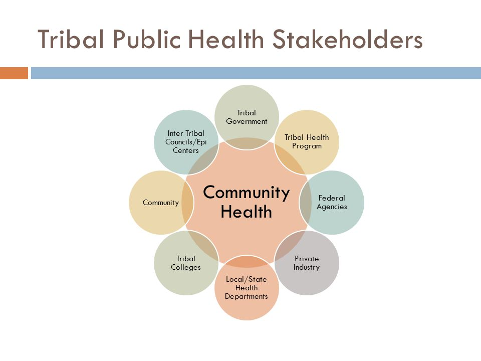 Tribal Public Health Stakeholders