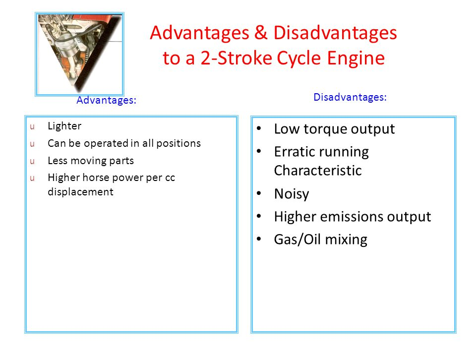 Advantages Disadvantages To A Stroke Cycle Engine on 4 Stroke Cycle Animation