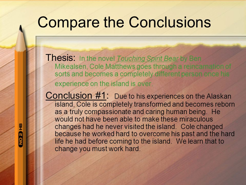 write phd thesis conclusions