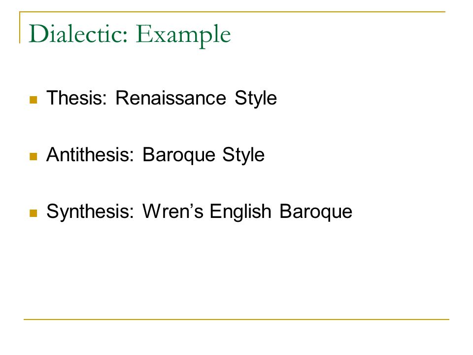 example of dialectic essay Dialectic essay writing guide  students are expected to use their own logical sense to think about the strengths and weaknesses of the example essays.