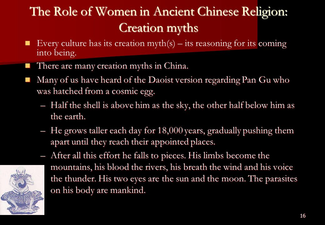 roles of women in ancient china essay Ancient china xia dynasty  people's republic of china (1949 to present)   women during the tang dynasty have been considered lucky because of the.