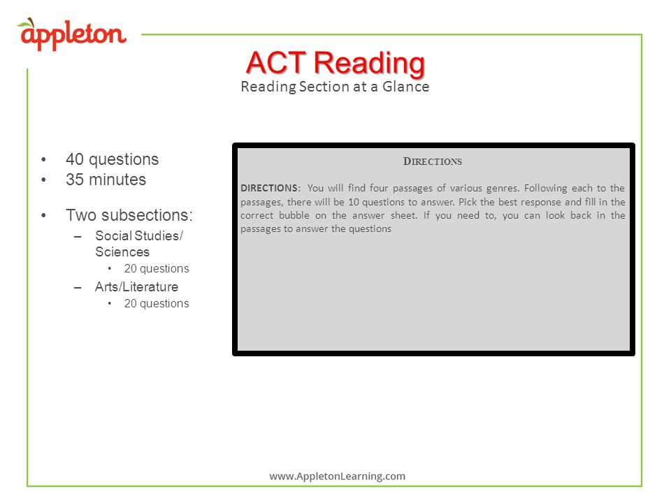 act bubble sheet