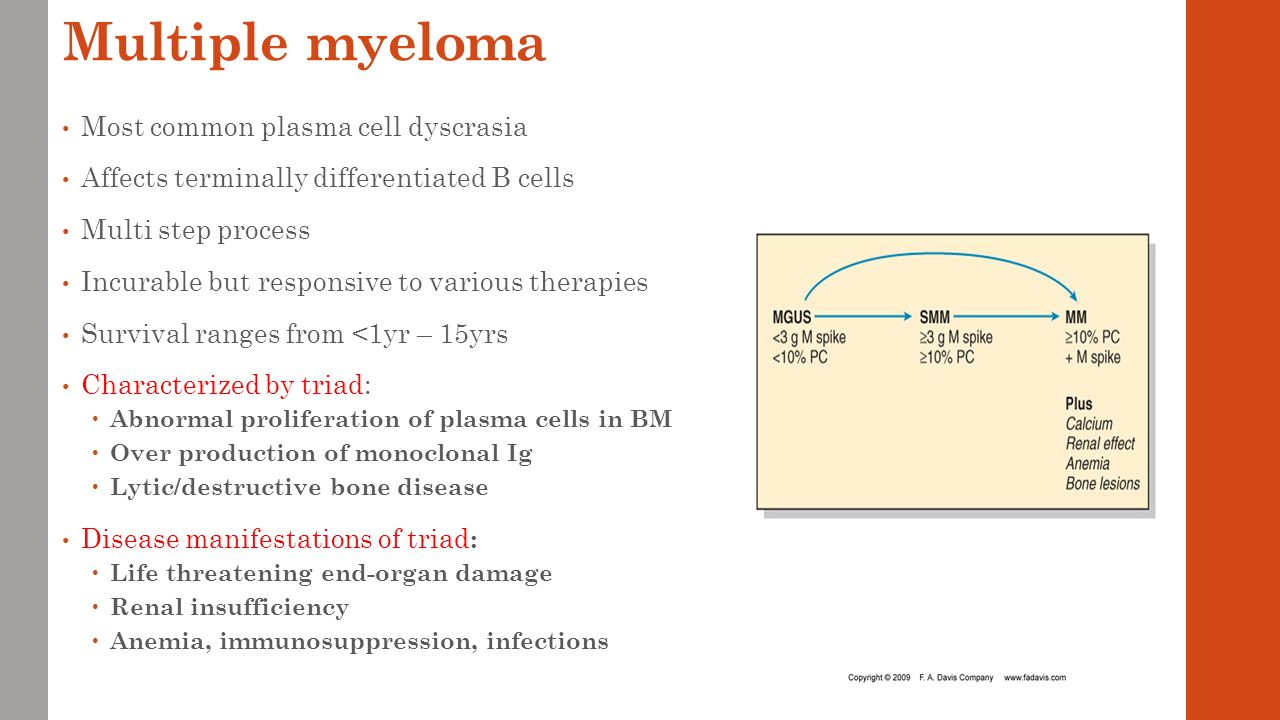 Lecture 8 and 9 Lymphomas; Multiple Myeloma, Plasma cell ... Multiple Myeloma