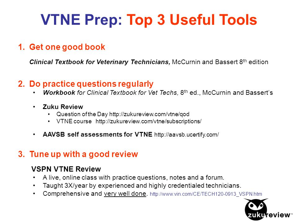 How to pass the VTNE - YouTube