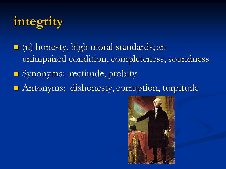 integrity or dishonesty upon voting The purpose of the academic honesty policy is to provide a clear statement of expectations on academic integrity and a fair are called upon to promote the.