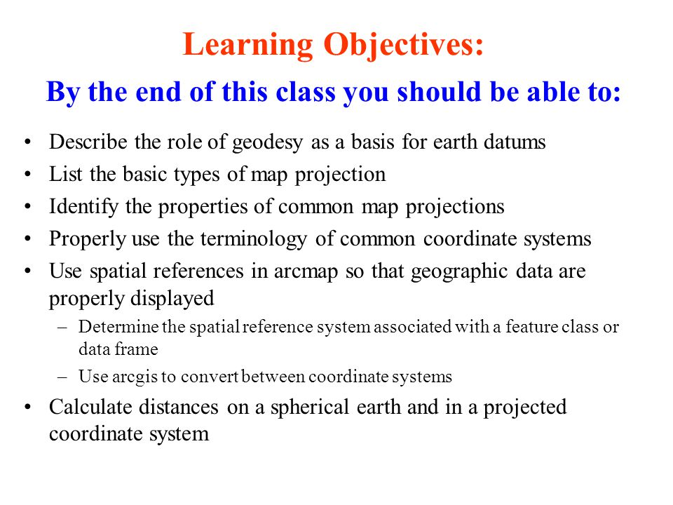 Geodesy Map Projections And Coordinate Systems Ppt Download - Univerasl us coodirnate system arc map