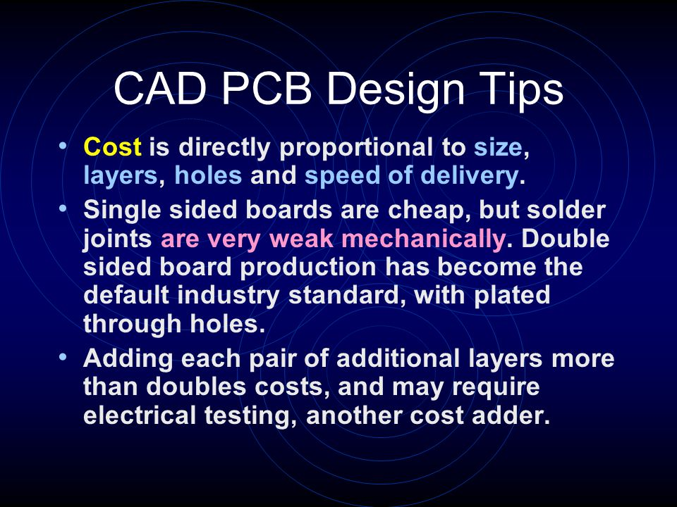 Cad Pcb Design V1 9 Walter Shawlee 2 Sphere Research