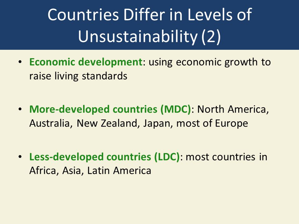 a description of the most economically developed country on africa It is used to distinguish whether the country is a developed and also to measure the impact of economic list of african countries by human development index.