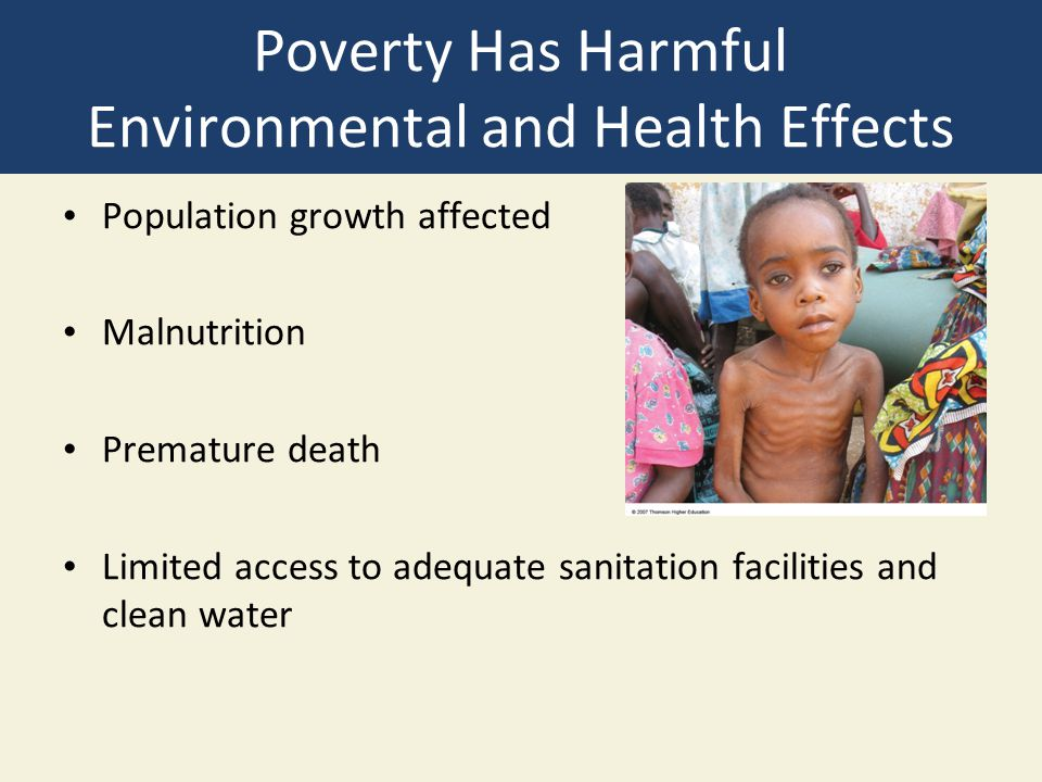 cause and effect environmental problem