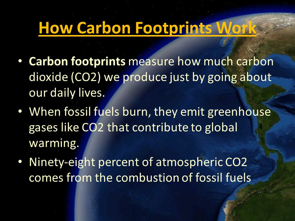 how to work out carbon footprint