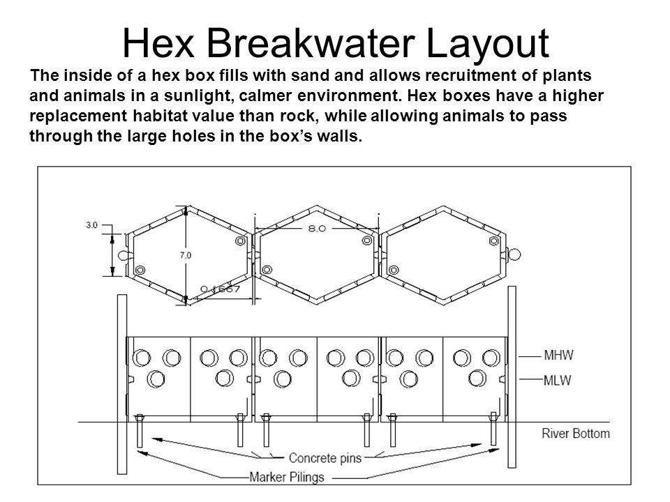 Hex Breakwater Layout