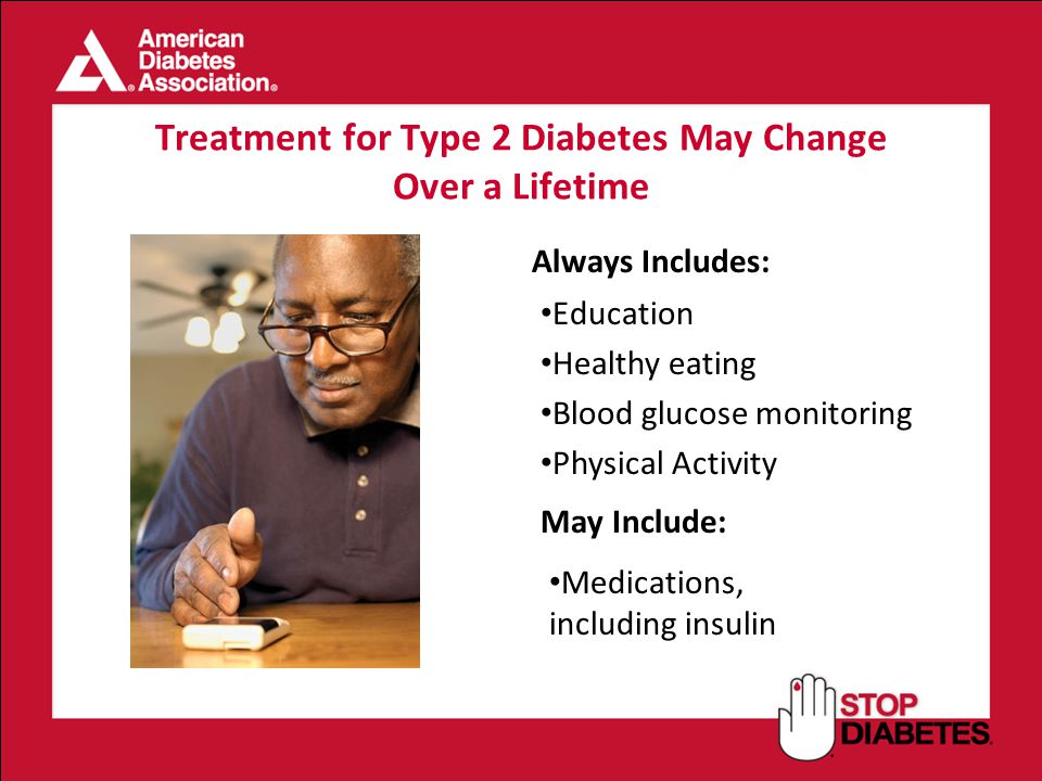 Treatment for Type 2 Diabetes May Change Over a Lifetime