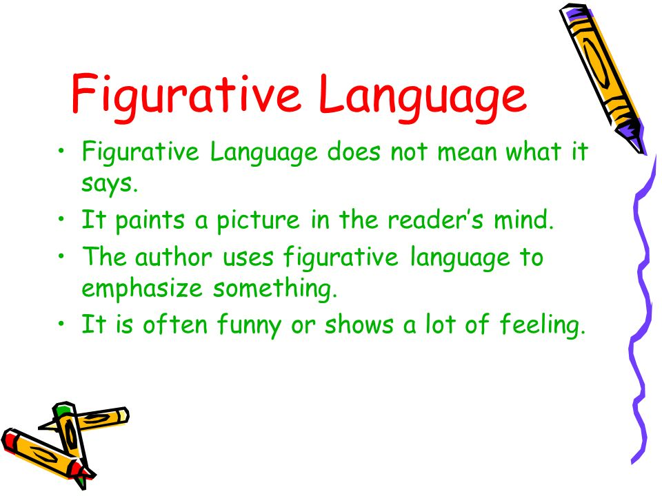what is figurative language ppt download