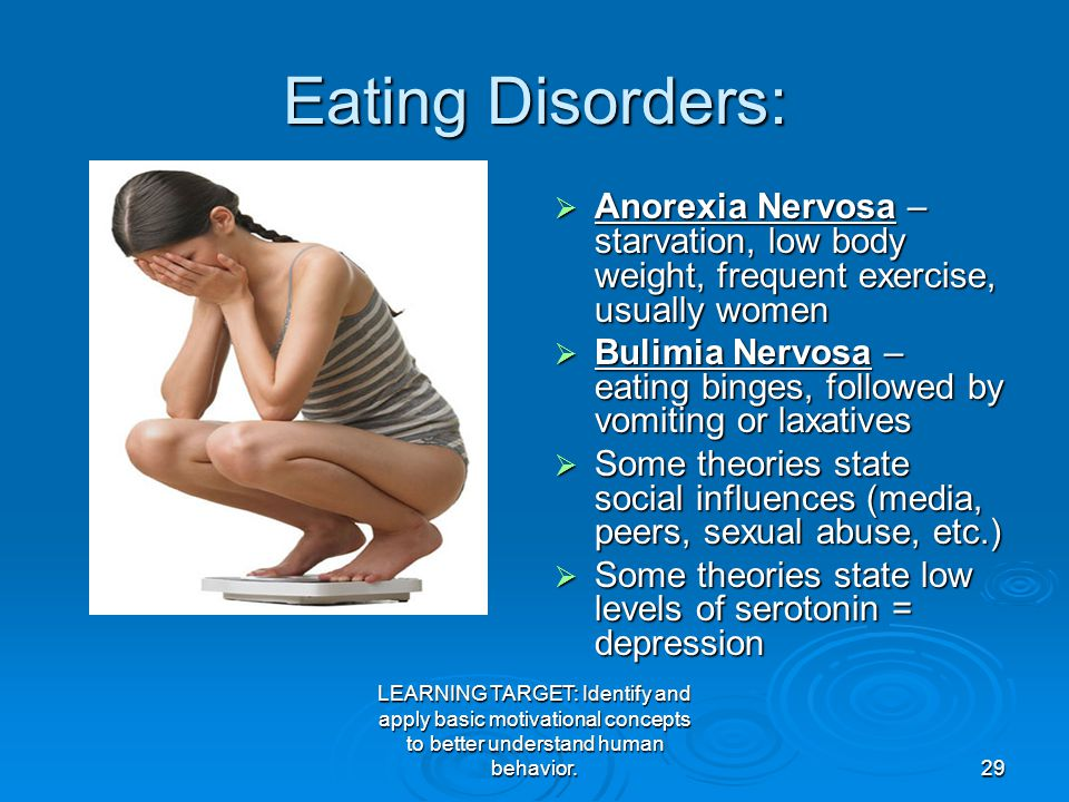 abuse and eating disorders There is a definite relationship between physical and sexual abuse and eating disorders people use their eating disorders to help to protect them, repress or.