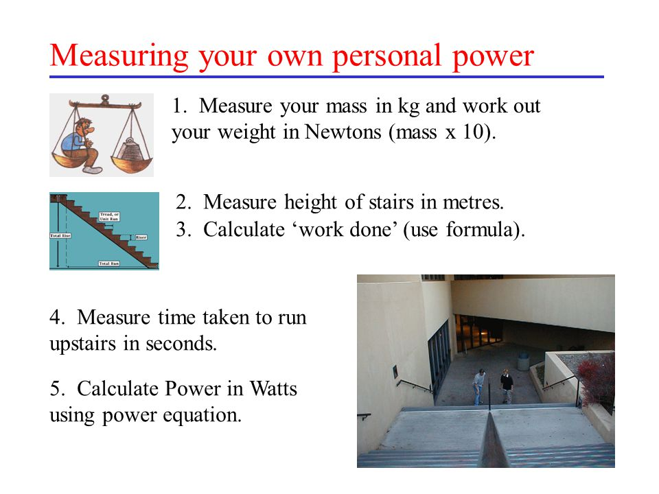 Measuring your own personal power