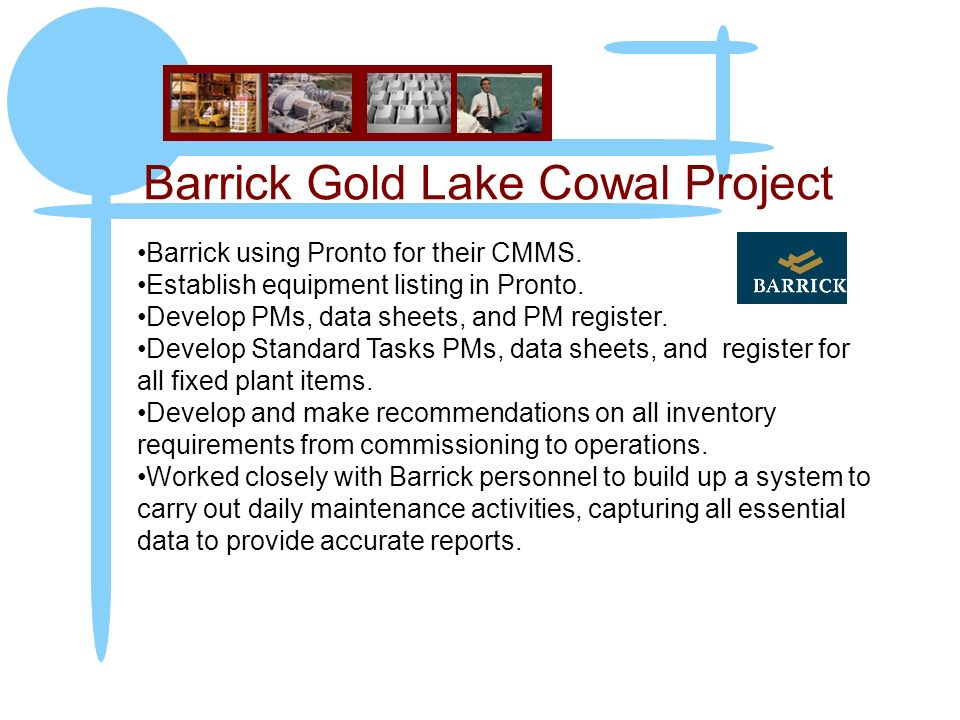 Barrick Gold Lake Cowal Project