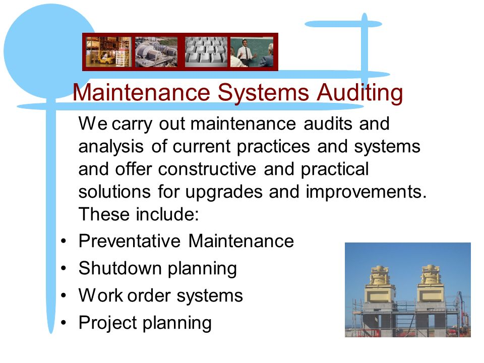 Maintenance Systems Auditing