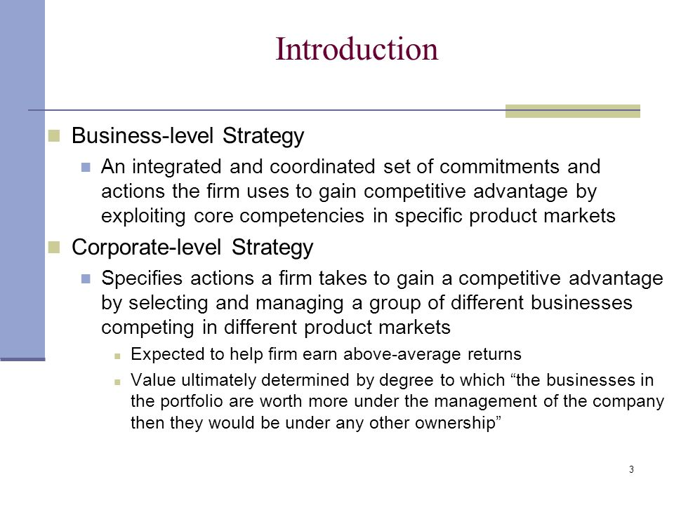 ibm corporate level strategy Answer to what generic business-level strategy did ibm pursue, what were the main elements of this strategy, and how did this strategy develop over time from its beginni.