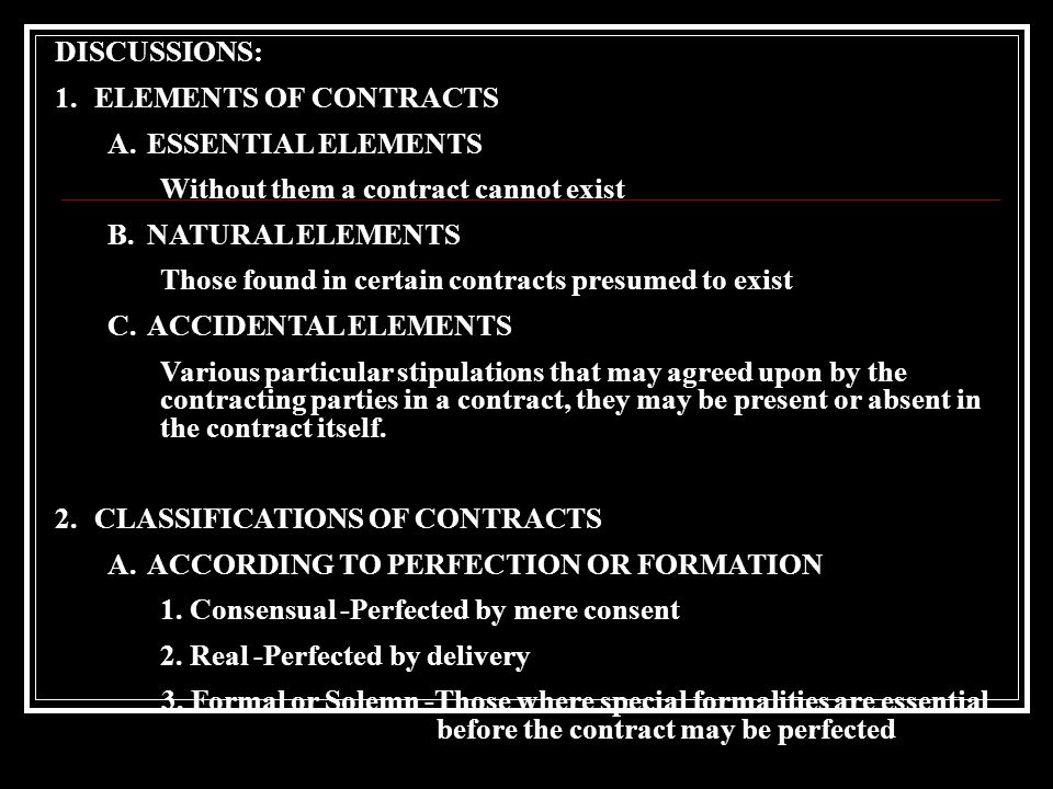 Contracts Asuar Bryan Jerick L Balingit Philip M  Ppt Download