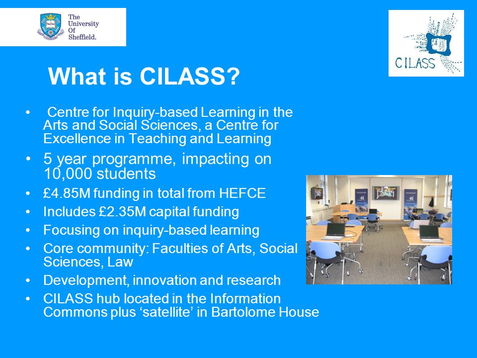 What is CILASS 5 year programme, impacting on 10,000 students