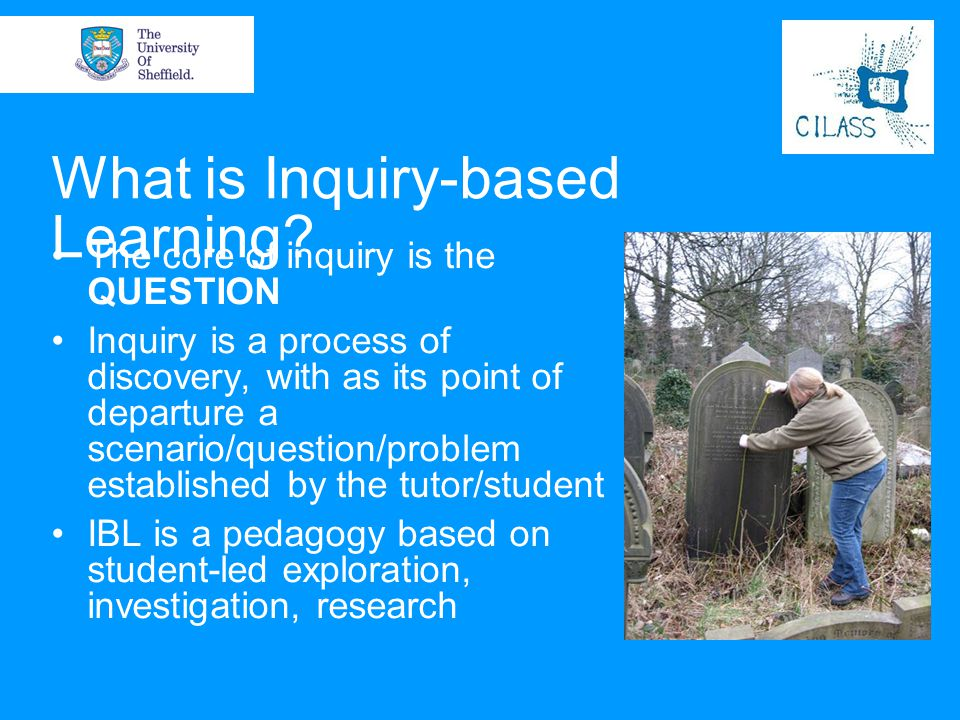 What is Inquiry-based Learning