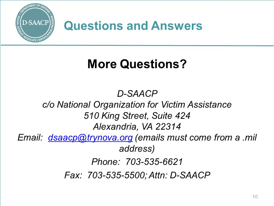 D-SAACP SARC Teleconferences - ppt video online download
