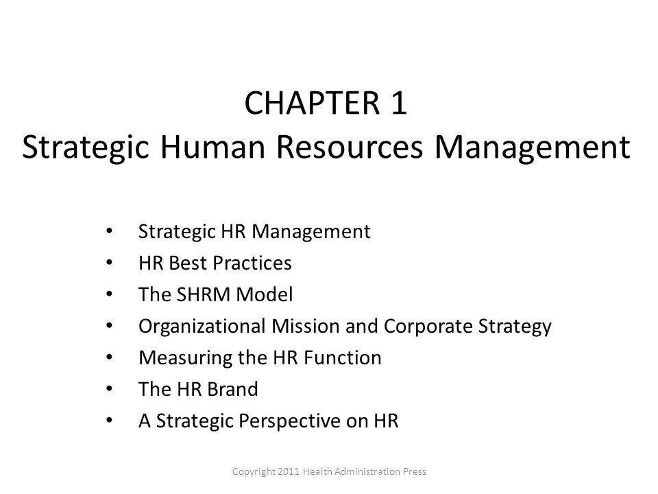 strategic human resources management practices in business The authors identify the key challenges facing strategic human resource management  strategic human resources management:  with human resources practices.