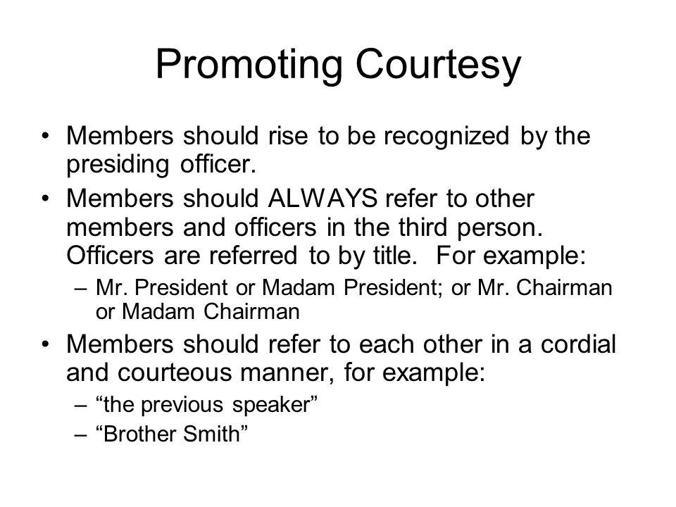 robert rules of order agenda template