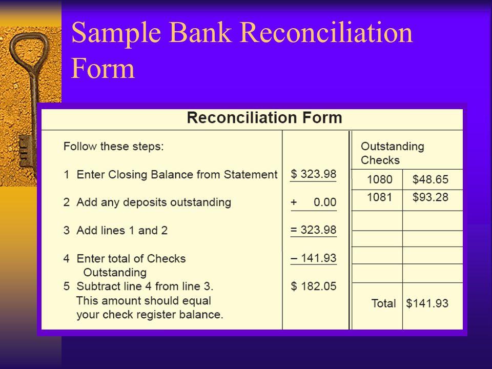 prepare a deposit slip record entries in a check register