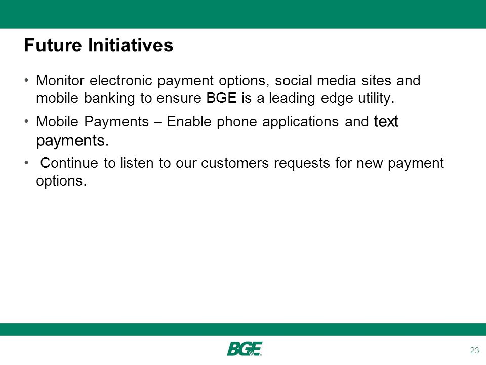 Utility Payment Conference Ppt Download